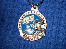 NEW  YORK GIANTS NFL FOOTBALL TEAM HELMET KEY CHAIN KEY RING 1991 VINTAGE