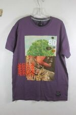 AKOO T Shirt Violet Native American Size Large Mens NWT $58 MSRP