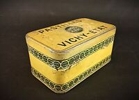 ancienne boite métallique publicitaire pastilles Vichy-Etat