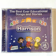 The Best Ever Educational Songs & Stories Personalized CD, For HARRISON