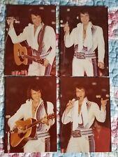 Elvis 8 Photo Set 11/76 Ft. Wayne, IN- Blue Rainbow Jumpsuit  & FREE Concert CD!