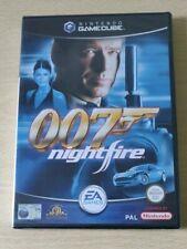 NINTENDO GAMECUBE JAMES BOND 007 NIGHTFIRE ITALIANO NUOVO SIGILLATO RARO PAL EU