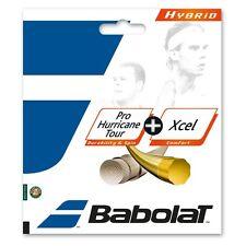 BABOLAT PRO HURRICANE TOUR 17 + XCEL 16 - hybrid string set - Authorized Dealer