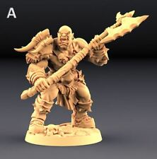 Warhammer miniatures ORC BARBARIANS- 28MM SCALE