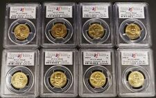 2008 P Presidential Dollar Coin Set PCGS MS68 MS 68 Position A & B Satin Finish