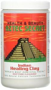 Aztec Secret Indian Healing Clay Deep Pore Cleansing Facial Mask - 2 LB