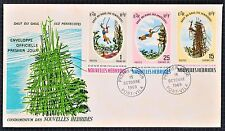 New Hebrides Condominium First Day Cover FDC 1969 South Pacific Saut de Gaul