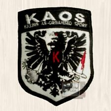 Get Smart KAOS Patch Shield Killing Organized Sport Maxwell Agent 86 Embroidered