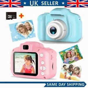 """Mini Children Camera Kids Digital Camera HD 2.0"""" 1080P Toy+32G Card Gift·"""