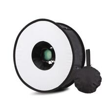 Collapsible 18'' 45cm Magnetic Macro Circular Round Softbox For Speedlite Flash