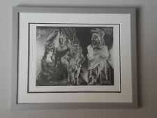 Lithographie 1972 , Pablo Picasso ,  Tirage 500 Exemplaires