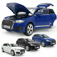 1:32 Audi Q7 SUV Off-road Model Car Diecast Gift Toy Vehicle Kids Sound Light