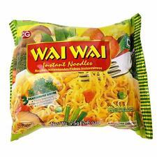 Box Of 30 Wai Wai Instant Noodles - Vegetable Veg Masala Flavor 75g Halal