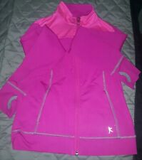 Danskin Now Pink Active Jacket Girls M 7- 8