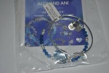 Alex & Ani Limited Edition Shiny Silver June Path of Life Bracelet Set of 2 NWT
