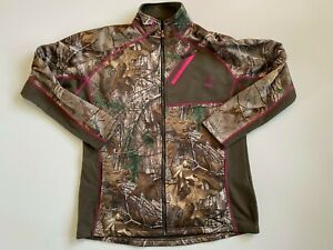 Rocky Athletic Mobility Full Zip Fleece Camouflage Sweatshirt Women's XL