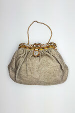 *ASPREY* VINTAGE BEADED EVENING BAG