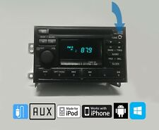 95-99 Nissan Maxima Xterra Frontier Altima CD FM PN-2218I Aux Input OEM STEREO
