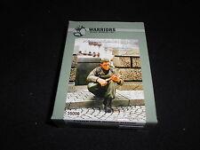 WARRIORS 35098, 1/35 PANZER CREW MEMBER SITTING RESIN FIGURE KIT