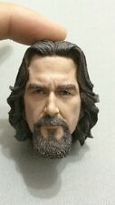 Custom Made 1/6 Big Lebowski Dude Head sculpt fit hot toys no iminime no rainman