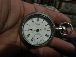 antique Waltham 1894 pocket watch