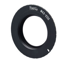 Quality M42 Lens to CANON EOS DSLR Camera Mount Adapter (flanged type)
