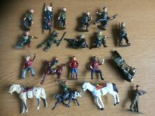 CHARBENS LEAD/METAL FIGURES X 19.  CAN BE SEPARATED