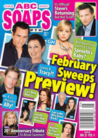 ABC Soaps In Depth Magazine February 4 2013 Brandon Barash Ignacio Serricchio