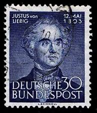 1953 GERMANY #695 JUSTUS VON LIEBIG - USED - VF - CV$22.50 (ESP#8922)