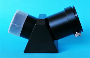 """High Quality 1.25"""" 45 degree Erecting Prism for Telescope, Diagonal Prism, BN"""