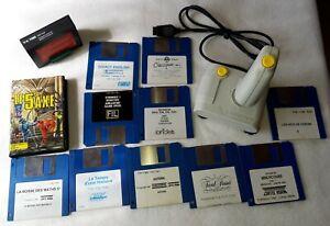 Thomson Computer Konvolut, Disketten, RAM, Cassette, Joystick MO6, TO7, TO8, TO9