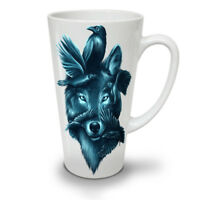 Wolf Spirit Ghost Animal NEW White Tea Coffee Latte Mug 12 17 oz | Wellcoda