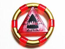 LEGO 7985 Atlantis - Treasure Key w/ Gold Bands and Shark Pattern - Red