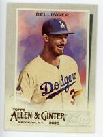 2020 Topps Allen & Ginter #65 CODY BELLINGER Los Angeles Dodgers BASEBALL CARD
