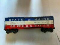 Vintage Lionel 6464-275 State of Maine Boxcar