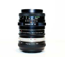 Sony E-Mount Mirrorless Adapted Vivitar 28mm f/2.8 Lens & 2x Teleconverter