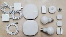 Smartthings Z-wave Wifi Routers Samsung 3rd Gen Lot buttons, sensors, Read