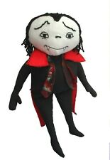 Otto friendly cloth doll vampire sewing pattern to sew. Fun Halloween huggable
