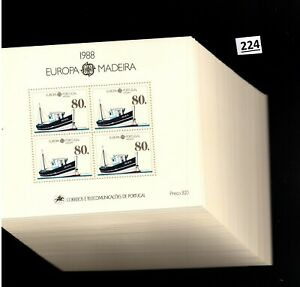# 76X PORTUGAL - MNH - EUROPA CEPT 1988 - TRANSPORT - SHIPS - WHOLESALE