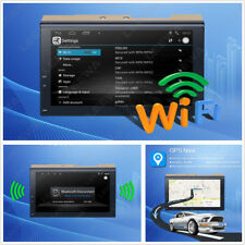 """7"""" Touch Screen 2-Din Car GPS Stereo Navigator Wifi Bluetooth Multimedia Player"""