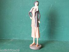 Figur Frau 20er Jahre Standmodell im nostalgischen Antik-Stil