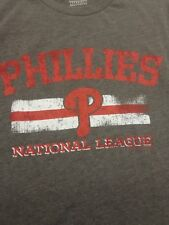 Philadelphia Phillies T-shirt National League, size Medium, gray, baseball, mlb
