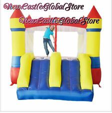 "12'1"" dual slide mini inflatable home castle jumping bouncer bouncy trampoline"