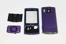 HOUSING COVER FACIA CASE + MIDDLE CHASSIS FOR NOKIA 6700 SLIDE PURPLE