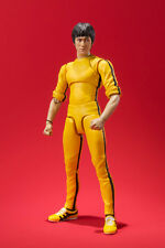 Bruce Lee Yellow Jump Suit S.H. SH Figuarts Action Figure BANDAI