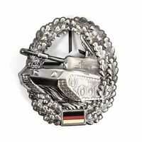 Genuine German army BW Panzer Beret Insignia Badge Tanker cockade Panzertruppe