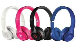 Genuine Beats by Dr. Dre Solo 2.0 Wired On-Ear Headphones