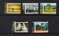 AUSTRALIA DECIMAL...2012 LIVING AUSTRALIA...SET OF 5...GOOD USED