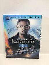 IO ROBOT (2004)  -  SLIPCASE 3 DISCHI -BLU RAY BLU RAY 3D, DVD   - WILL SMITH