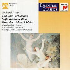 Strauss - Death &Transfiguration · Sinfonia domestica · Dance of the Seven Veils